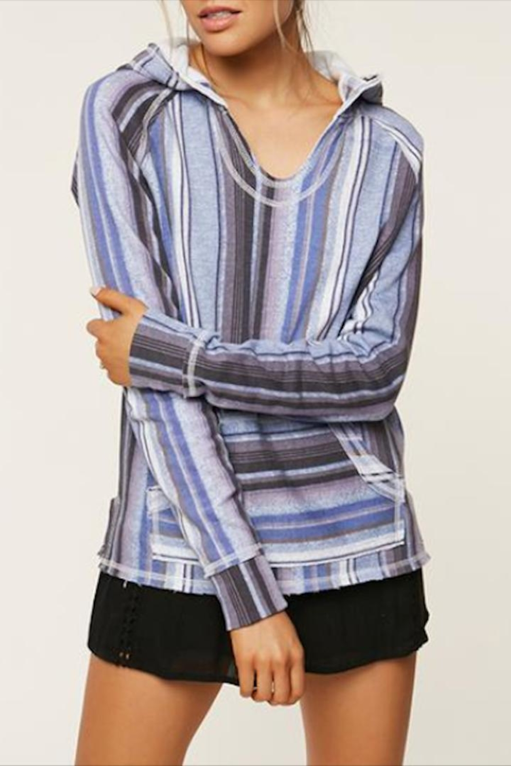 designer fashion b3755 a39d8 O'Neill Striped Pullover Hoodie from Oregon by Patina Soul ...