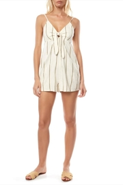 O'Neill Olive Striped Romper - Product Mini Image