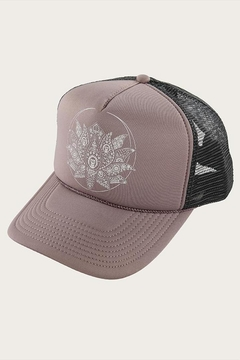 Shoptiques Product: Two-Tone Lotus Trucker