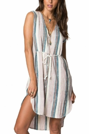 O'Neill Zeezee Striped Dress - Product Mini Image