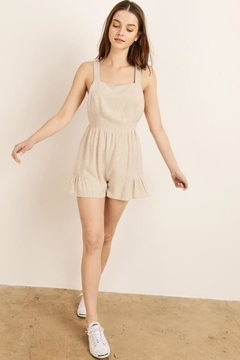 storia O-Ring Tie-Back Romper - Product List Image