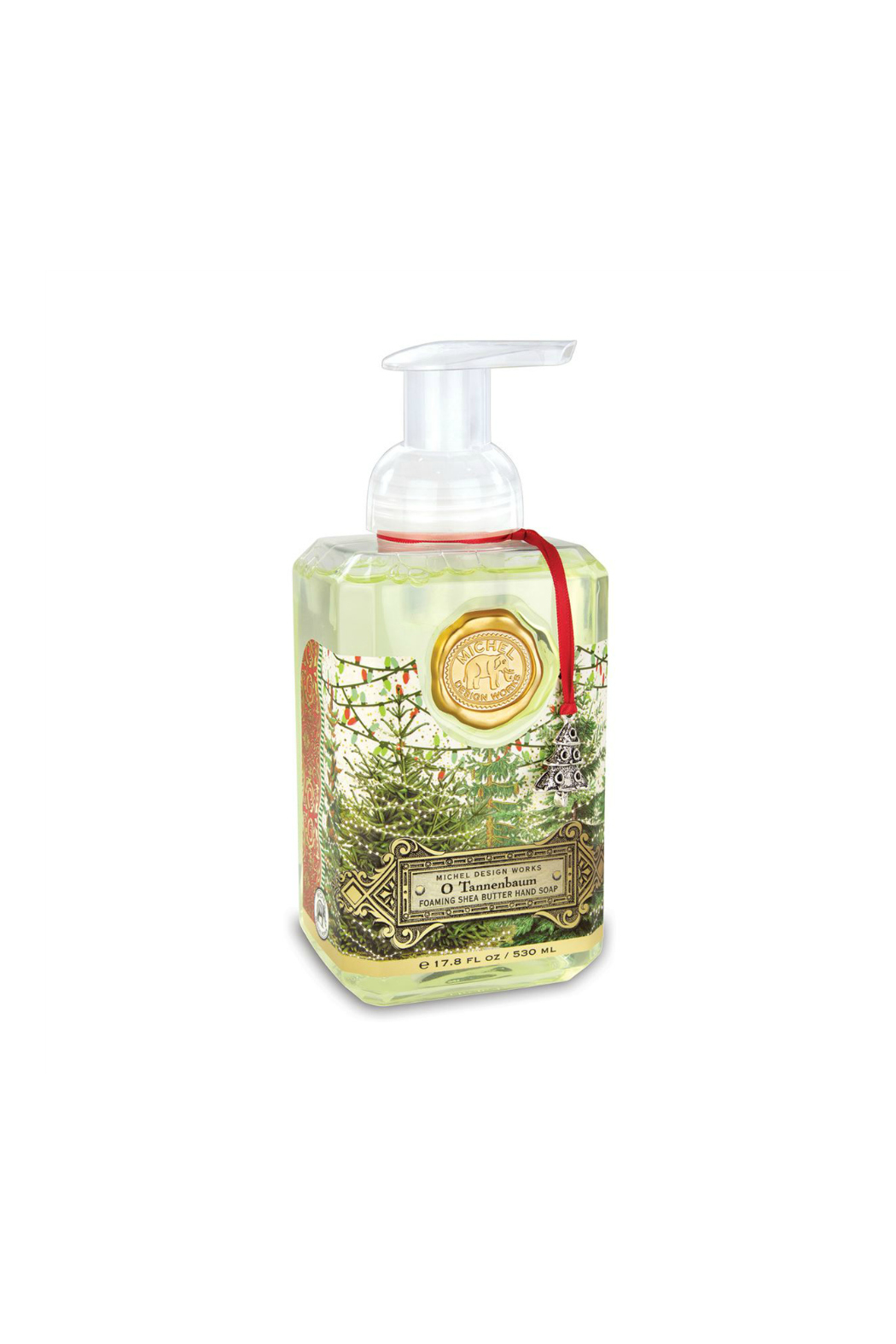 Michel Design Works O Tannenbaum Foaming Soap - Front Cropped Image