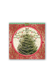Michel Design Works O Tannenbaum Hostess Napkin - Product Mini Image