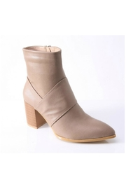 O-Zone Chunky Heel Bootie - Front cropped