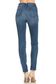 O2 Denim High-Waist Denim Skinny - Back cropped