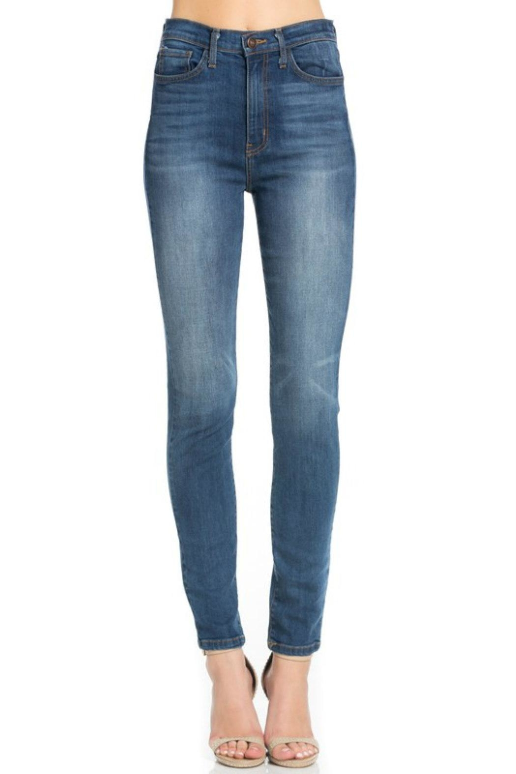 O2 Denim High-Waist Denim Skinny - Main Image