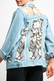 O & O Vintage Lace Denim-Jacket - Product Mini Image