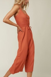 O Neill Button Front Jumpsuit - Product Mini Image