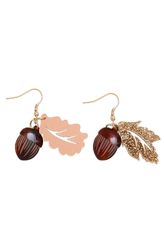Tatty Devine Oak Acorn Earrings - Product List Image