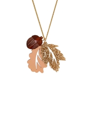 Tatty Devine Oak Leaf Acorn - Product Mini Image