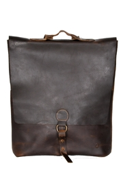 Oak River Company Brown Leather Backpack - Product Mini Image