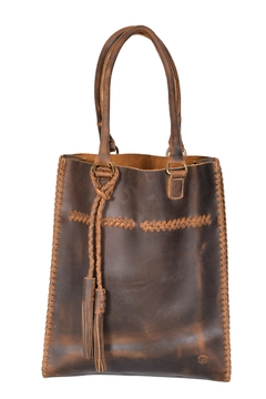 Oak River Company Leather Braided Tote - Product List Image