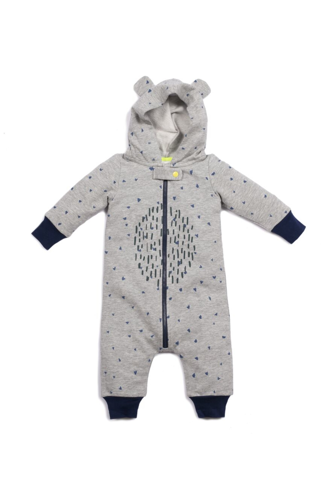Egg  by Susan Lazar Oakley Hooded Onesie - Main Image