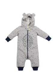 Egg  by Susan Lazar Oakley Hooded Onesie - Front cropped
