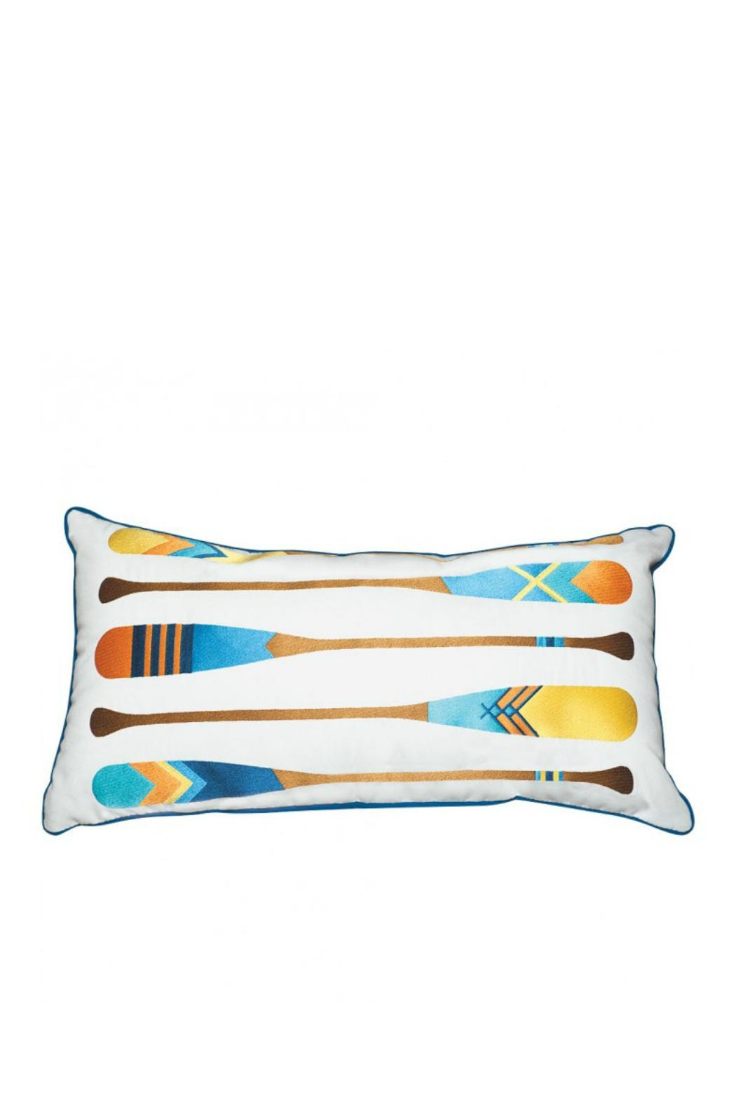 Rightside Design Oars Lumber Pillow - Main Image