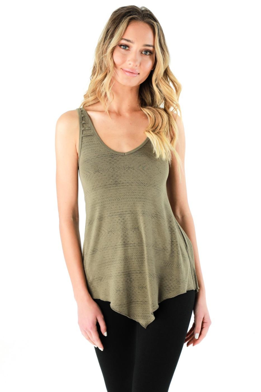 Nomad Hempwear Oasis Tank Top - Front Cropped Image