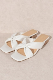 Oasis Society Cherie Knotted Sandal - Product Mini Image