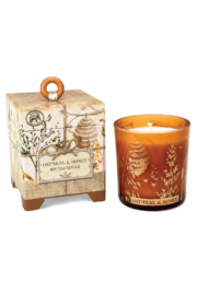 Michel Design Works Oatmeal & Honey Candle - Front cropped