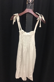LoveRiche Oatmeal Romper - Front cropped