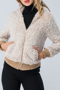 Trend:notes Oatmeal Sherpa - Product List Image