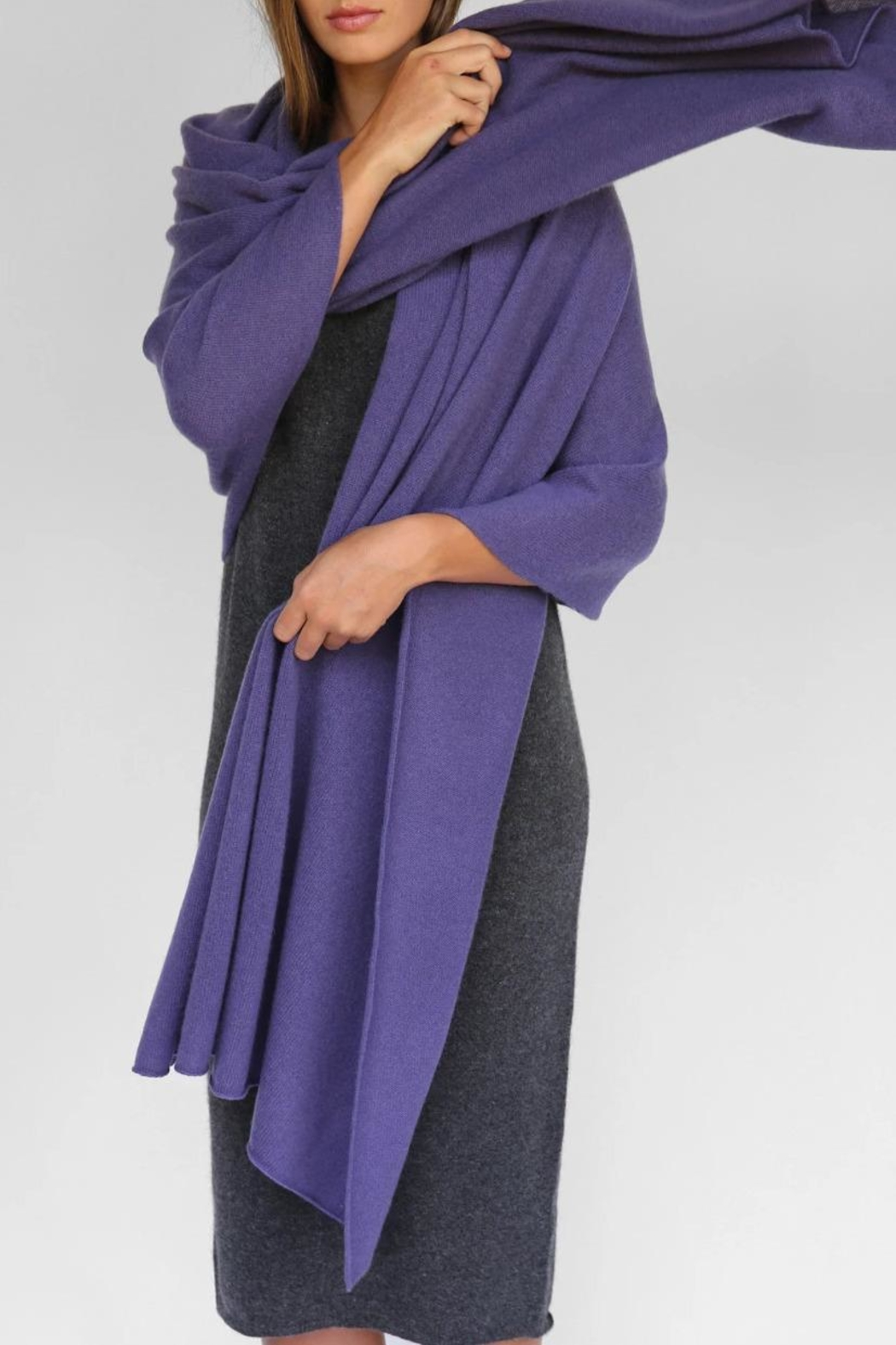Oats Adele Cashmere Travel/wrap - Front Cropped Image