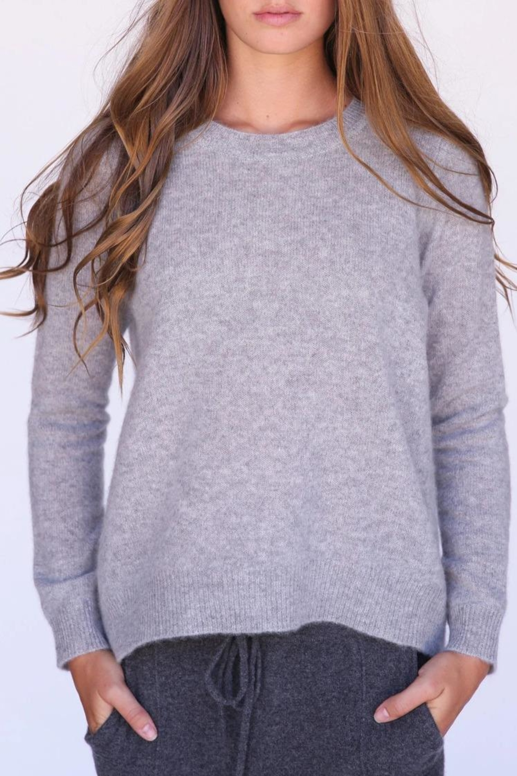 Oats Kendra Cashmere Sweater - Front Cropped Image