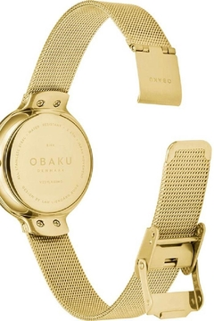 Obaku Birk Gold Watch - Alternate List Image