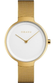 Obaku Birk Gold Watch - Product Mini Image