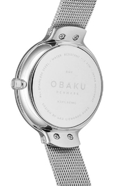 Obaku Birk Steel Watch - Side cropped