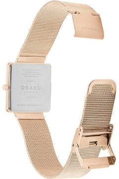 Obaku Kvadrat Rose Watch - Alternate List Image