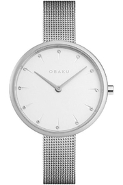 Obaku Notat Steel Watch - Product Mini Image