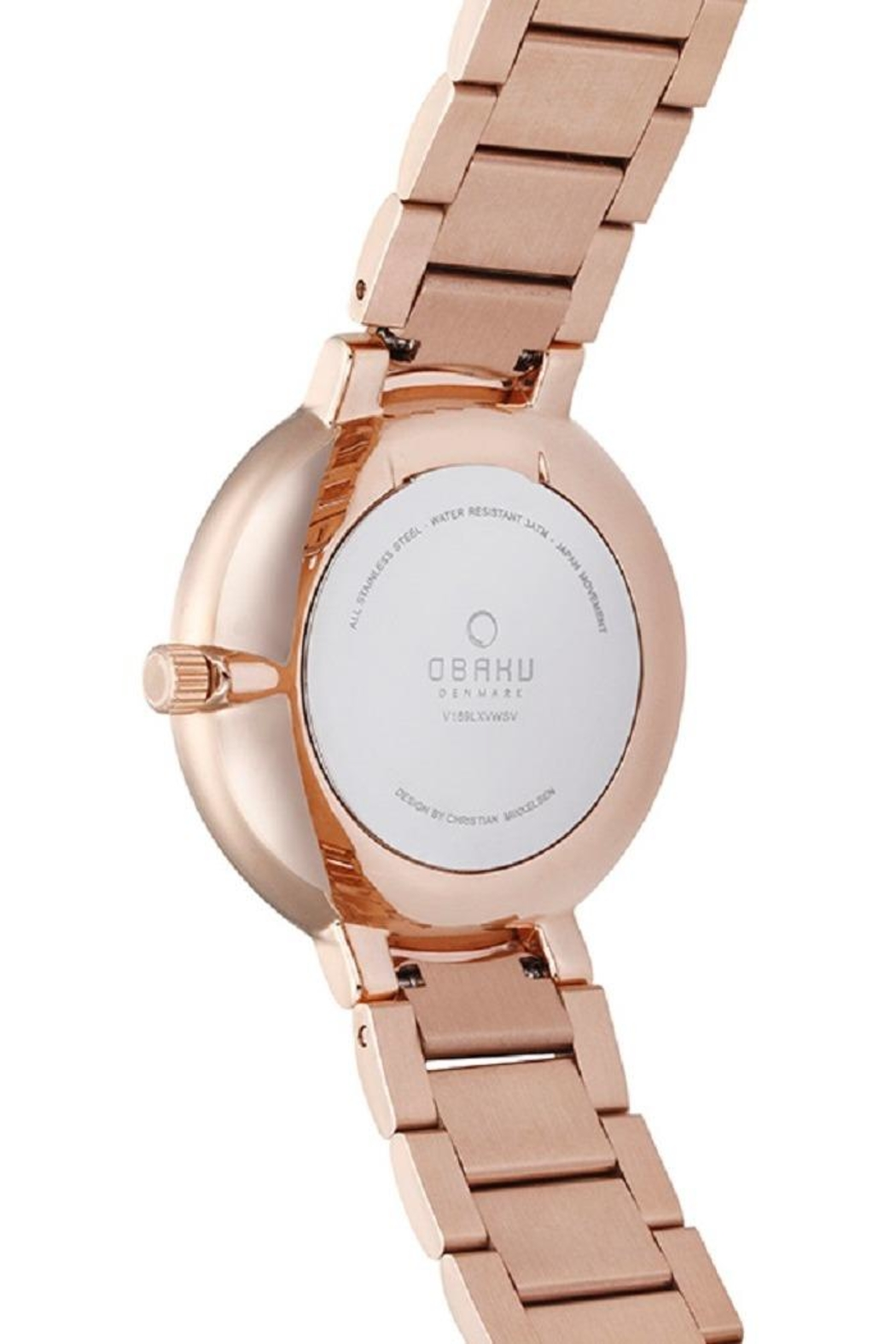 Obaku Glad Fuchsia Watch - Side Cropped Image