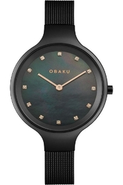 Obaku Sky Charcoal Watch - Product Mini Image