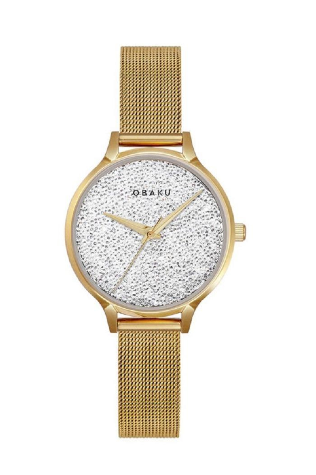 Obaku Stjerner Gold Watch - Main Image