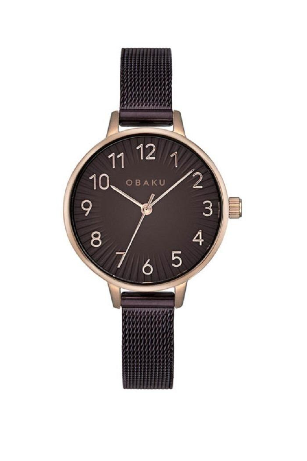 Obaku Syren Walnut Watch - Main Image