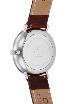 Obaku Toft Mocha Watch - Alternate List Image