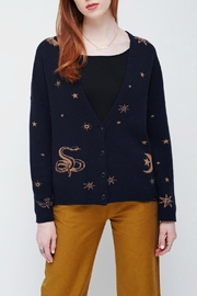 Obey Cosmos Sweater - Front cropped