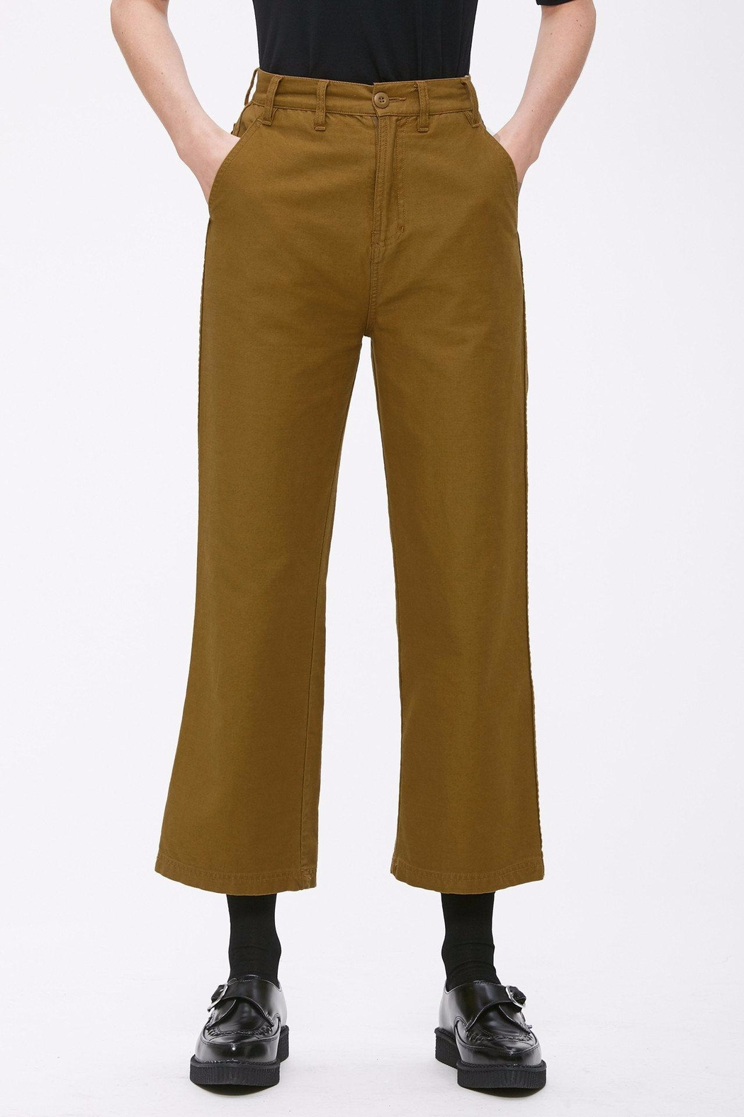 Obey Cropped Military Pant - Main Image