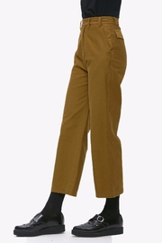 Obey Cropped Military Pant - Front full body