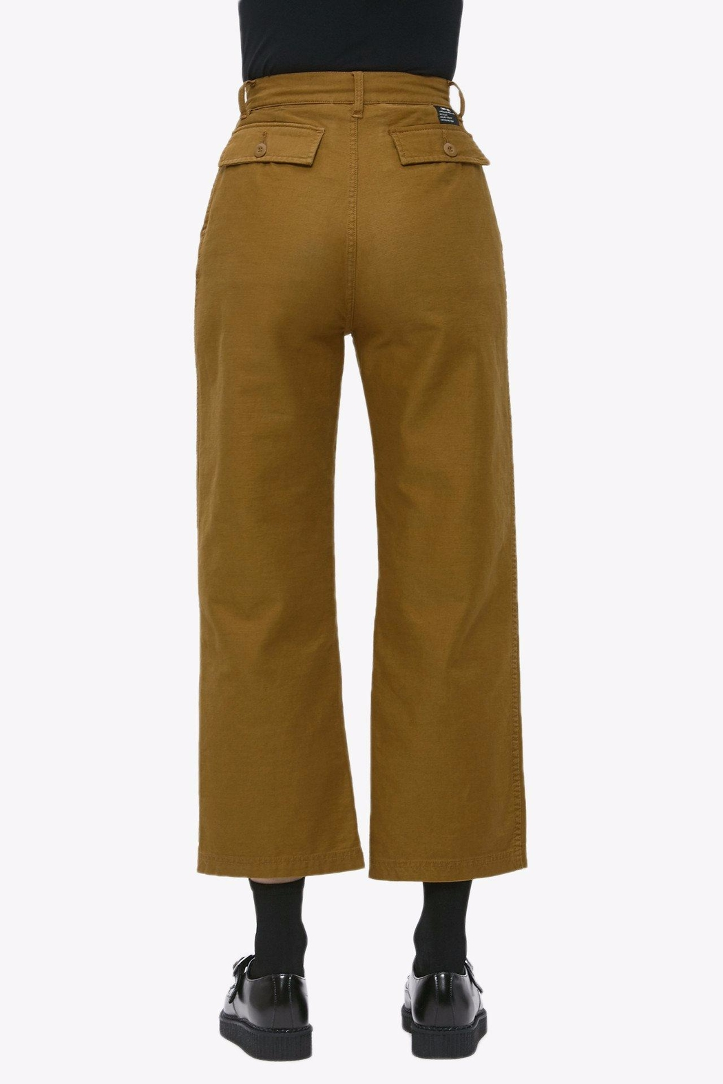 Obey Cropped Military Pant - Side Cropped Image