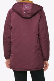 Obey Reversible Coaches Jacket - Front full body