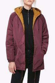 Obey Reversible Coaches Jacket - Front cropped