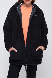 Obey Reversible Sherpa Coat - Side cropped