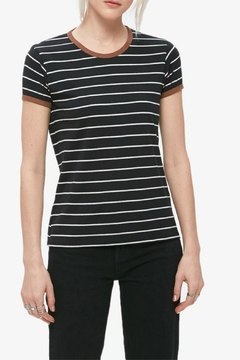 Obey Striped Ringer Tee - Product List Image