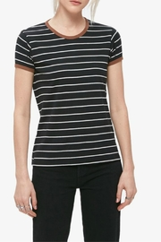 Obey Striped Ringer Tee - Front cropped