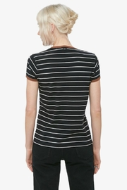 Obey Striped Ringer Tee - Front full body
