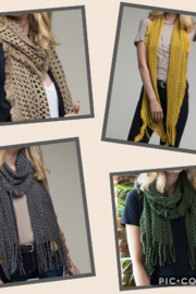Kindred Mercantile  Oblong Knit scarf - Product Mini Image