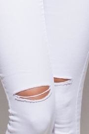 OC Avenue White Denim Jeans - Front full body