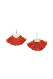 Occasionally Made Fanned Out Earring - Product Mini Image