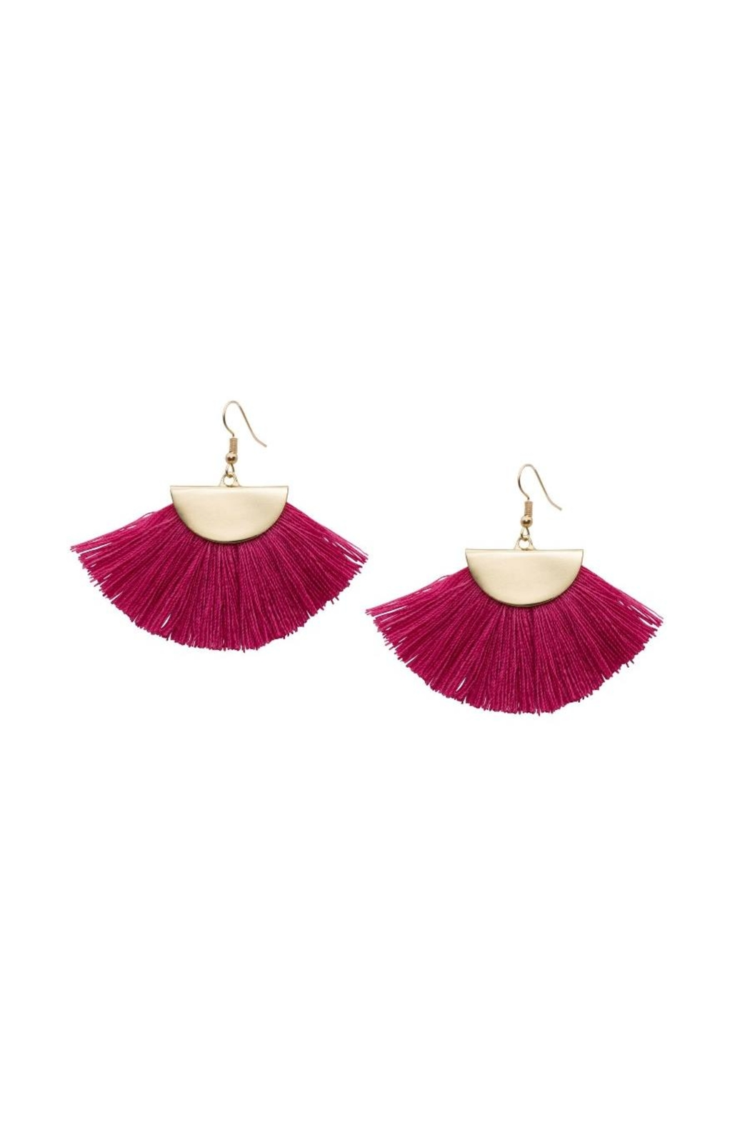 Occasionally Made Fanned Out Earring - Main Image